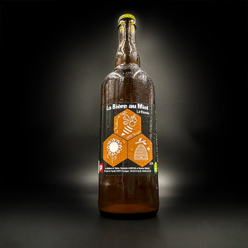 Bière blonde au miel