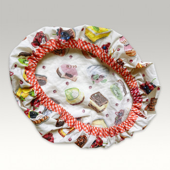 Charlotte couvre-plat oval