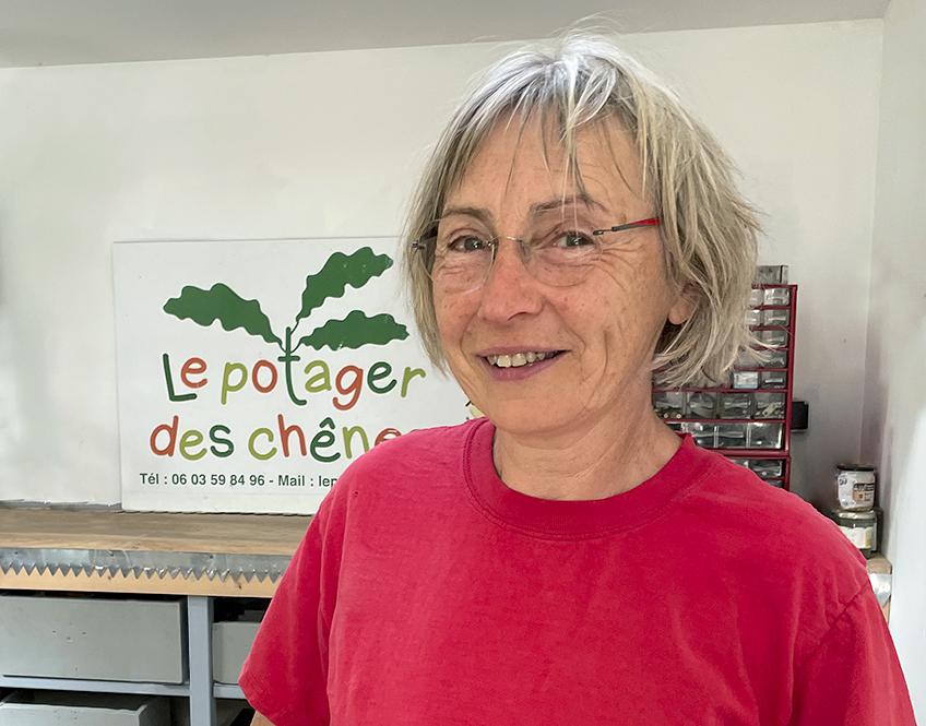 Le Potager des Chênes - Productrice de fruits et légumes biologiques en Sud Deux-Sèvres
